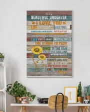To My Daughter - Keep Your face To The Sunshine  20x30 Gallery Wrapped Canvas Prints aos-canvas-pgw-20x30-lifestyle-front-03