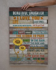 To My Daughter - Keep Your face To The Sunshine  20x30 Gallery Wrapped Canvas Prints aos-canvas-pgw-20x30-lifestyle-front-29