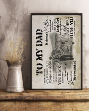 To My Dad - Farmer - Poster 16x24 Poster lifestyle-poster-3