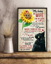 TO MY WIFE - SUNSLOWER - I'M IN LOVE WITH YOU 16x24 Poster lifestyle-poster-3