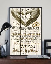 TO MY WIFE - LOVE HEART - I LOVE YOU 16x24 Poster lifestyle-poster-2