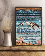 MOM AND DAD TO DAUGHTER 16x24 Poster lifestyle-poster-3