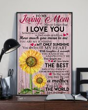 DAUGHTER TO MOM 16x24 Poster lifestyle-poster-2
