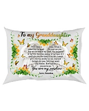 Grandma to Granddaughter - You Are The Beat Of My Rectangular Pillowcase back