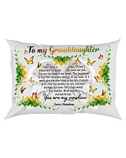 Grandma to Granddaughter - You Are The Beat Of My Rectangular Pillowcase front