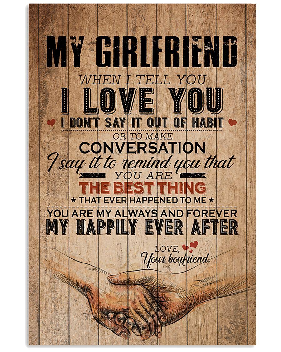 MY GIRLFRIEND 16x24 Poster