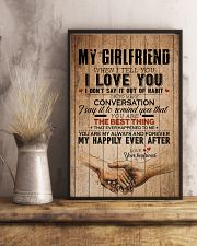 MY GIRLFRIEND 16x24 Poster lifestyle-poster-3