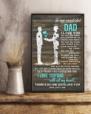 POSTER - TO MY DAD - PIECE - I LOVE YOU 16x24 Poster lifestyle-poster-3