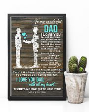 POSTER - TO MY DAD - PIECE - I LOVE YOU 16x24 Poster lifestyle-poster-8