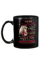 Grandma to Granddaughter - I Will Be There  Mug back