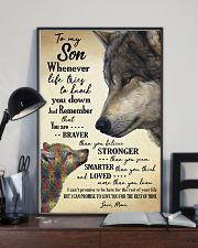 MOM TO SON 16x24 Poster lifestyle-poster-2