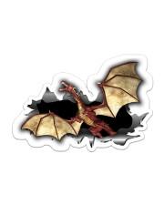 Dragon - Sticker Sticker - Single (Horizontal) front