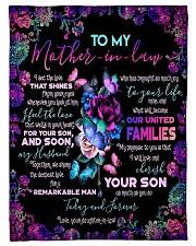 """To My Mother-in-law - Fleece Blanket Small Fleece Blanket - 30"""" x 40"""" front"""