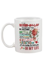 TO MY SISTER IN LAW Mug back