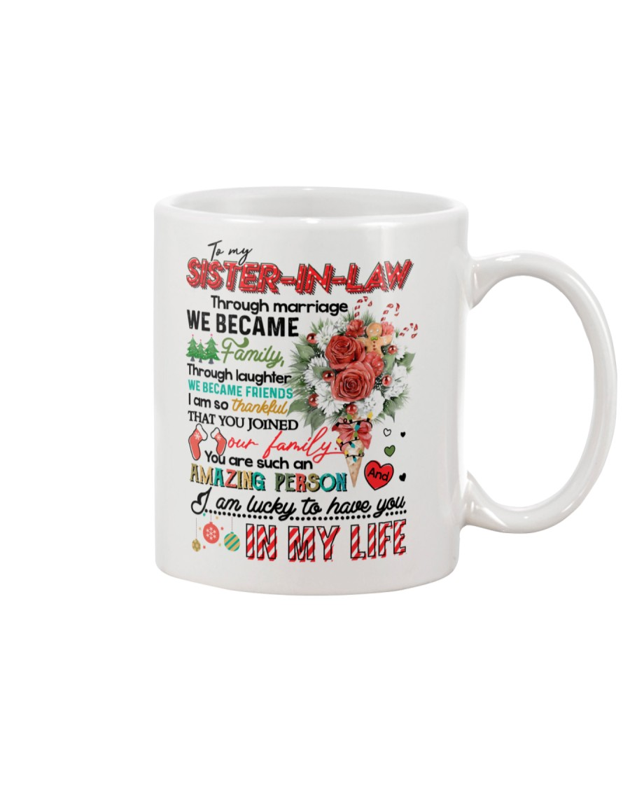TO MY SISTER IN LAW Mug