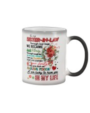 TO MY SISTER IN LAW Color Changing Mug thumbnail