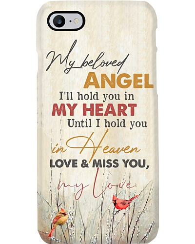 MY ANGEL IN HEAVEN - CARDINAL - MISS YOU