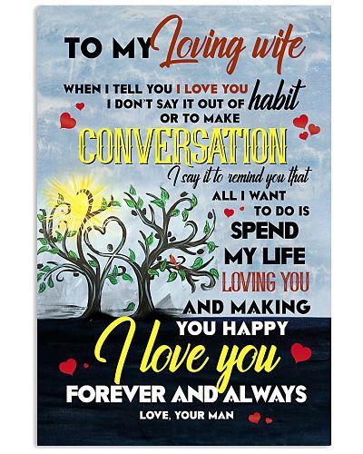 TO MY WIFE - LOVE TREE - I LOVE YOU