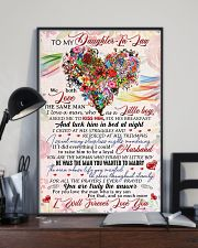 Daughter-in-law - Flowers - We Both Love  16x24 Poster lifestyle-poster-2