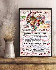 Daughter-in-law - Flowers - We Both Love  16x24 Poster lifestyle-poster-3