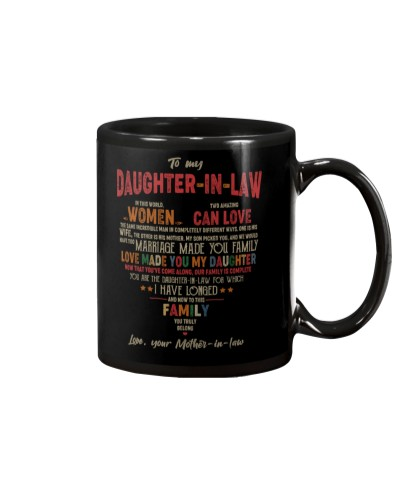 TO DAUGHTER-IN-LAW - VINTAGE - YOU TRULY BELONG