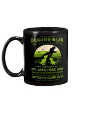 TO MY DAUGHTER-IN-LAW - SAURUS - CIRCUS Mug back