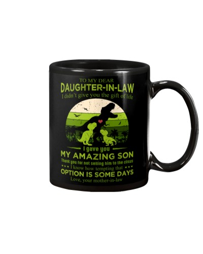 TO MY DAUGHTER-IN-LAW - SAURUS - CIRCUS
