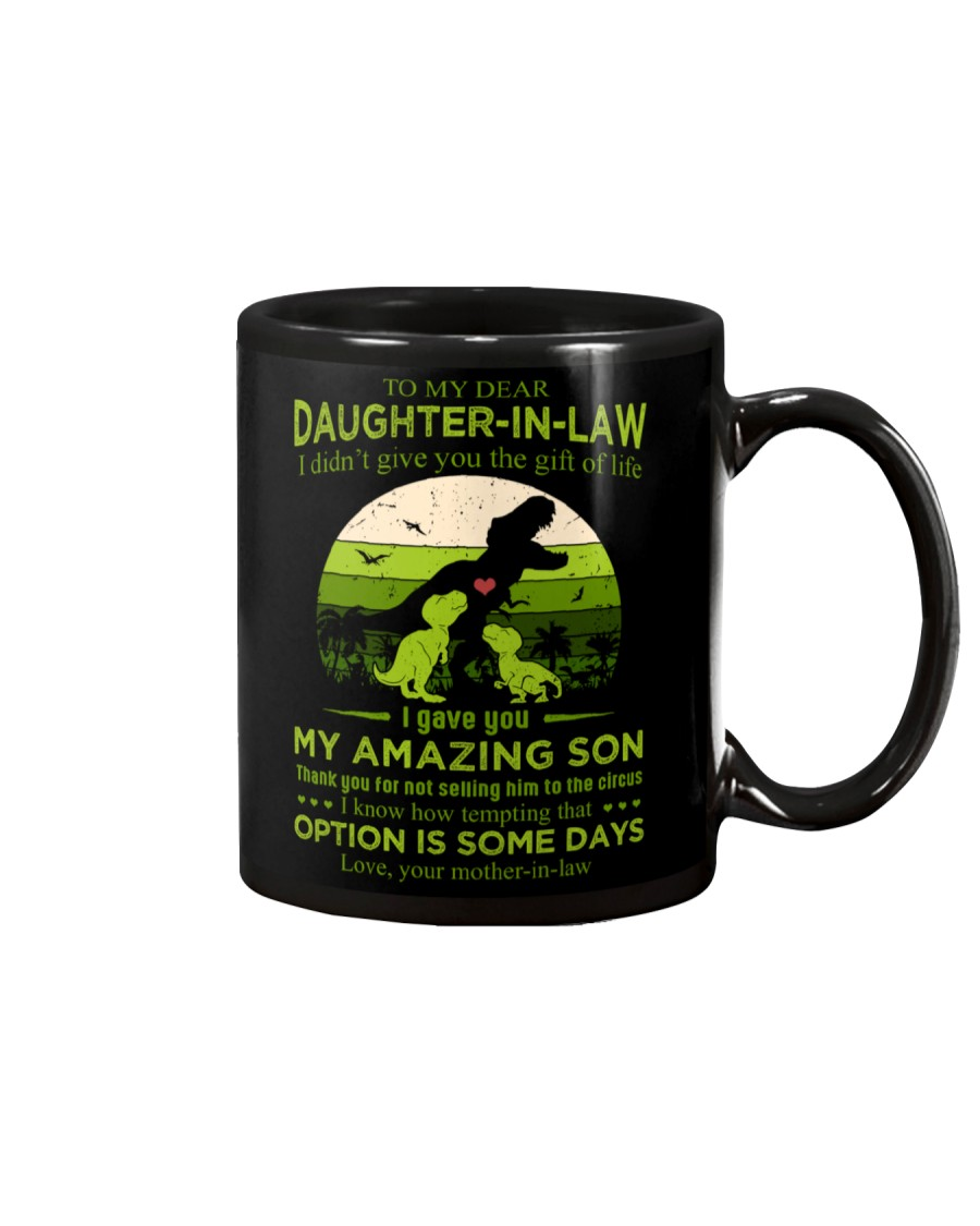 TO MY DAUGHTER-IN-LAW - SAURUS - CIRCUS Mug