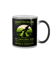 TO MY DAUGHTER-IN-LAW - SAURUS - CIRCUS Color Changing Mug thumbnail