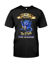 SON-IN-LAW - DRAGON COFFEE - THE MAN THE MYTH Classic T-Shirt front