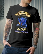 SON-IN-LAW - DRAGON COFFEE - THE MAN THE MYTH Classic T-Shirt lifestyle-mens-crewneck-front-6