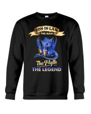 SON-IN-LAW - DRAGON COFFEE - THE MAN THE MYTH Crewneck Sweatshirt thumbnail