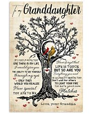 Grandma to Granddaughter - Life Is Touch - Poster 16x24 Poster front