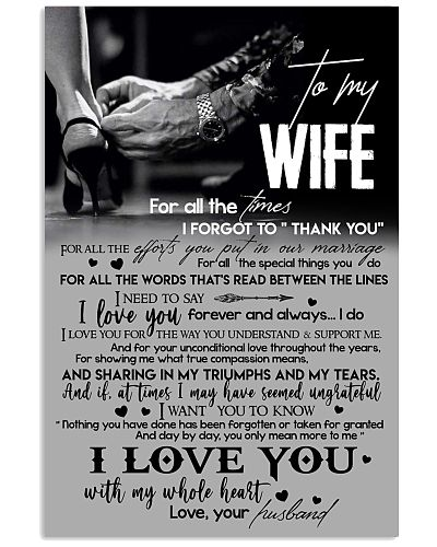 TO MY WIFE - LOVING YOU - I LOVE YOU