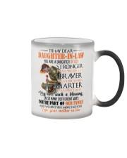 DAUGHTER-IN-LAW - GOD - STRONGER - BRAVER  Color Changing Mug thumbnail
