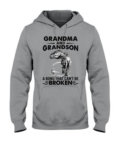 GRANDMA NAD GRANDSON - DINO - A BOND