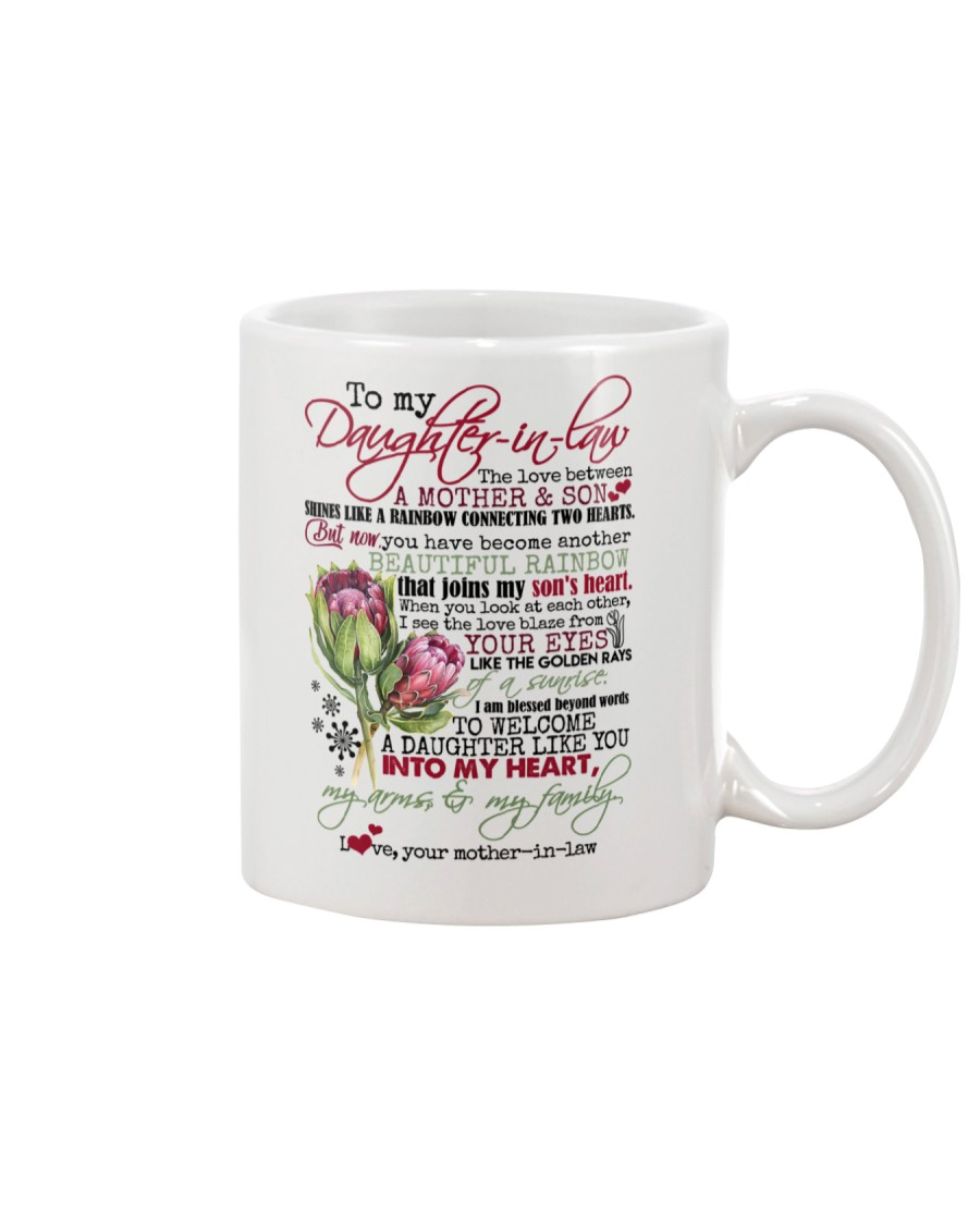 DAUGHTER-IN-LAW - WELCOME YOU INTO MY FAMILY Mug
