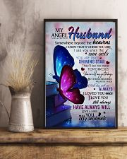 MY ANGEL HUSBAND - BUTTERFLY - MISS YOU 16x24 Poster lifestyle-poster-3