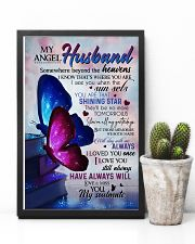 MY ANGEL HUSBAND - BUTTERFLY - MISS YOU 16x24 Poster lifestyle-poster-8
