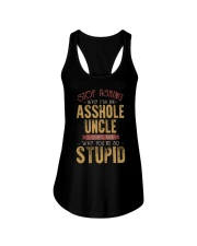 Stop Asking Why I'm An Asshole Uncle Ladies Flowy Tank thumbnail