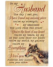 TO MY HUSBAND 16x24 Poster front