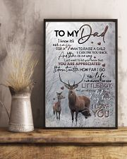 POSTER - TO MY DAD - DEER - YOU ARE APPRECIATED 16x24 Poster lifestyle-poster-3