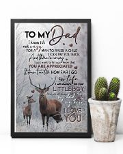 POSTER - TO MY DAD - DEER - YOU ARE APPRECIATED 16x24 Poster lifestyle-poster-8