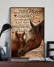 AUNT TO NIECE 16x24 Poster lifestyle-poster-2