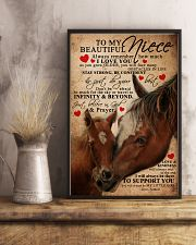 AUNT TO NIECE 16x24 Poster lifestyle-poster-3