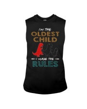 T-SHIRT - T REX - RULES - OLDEST CHILD Sleeveless Tee thumbnail