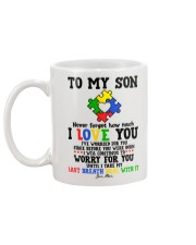 MOM TO SON Mug back