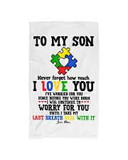 MOM TO SON Hand Towel thumbnail
