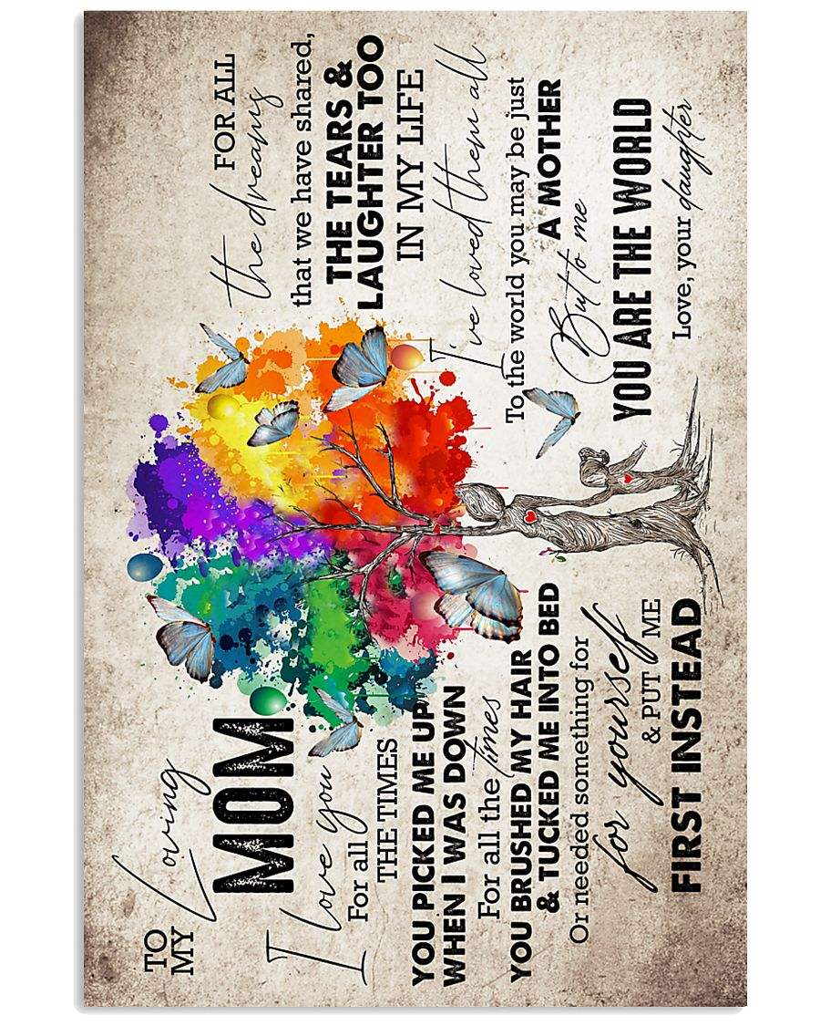 To My Mom - Tree - Poster 16x24 Poster