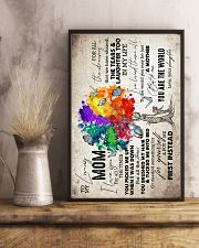 To My Mom - Tree - Poster 16x24 Poster lifestyle-poster-3